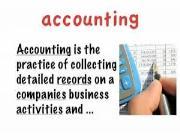 حسابداری به انگلیسی